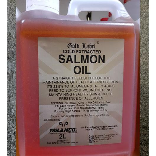 2 litre salmon oil